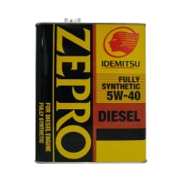 Моторное масло IDEMITSU Zepro Diesel 5W40 CF Fully Synthetic, 4л